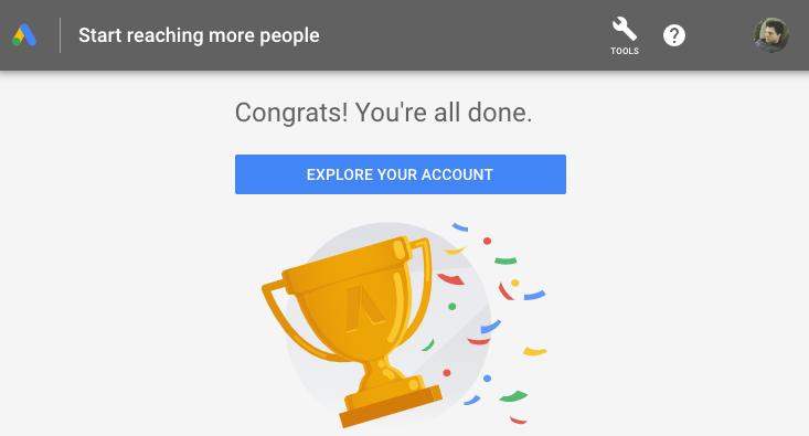 explore your account google